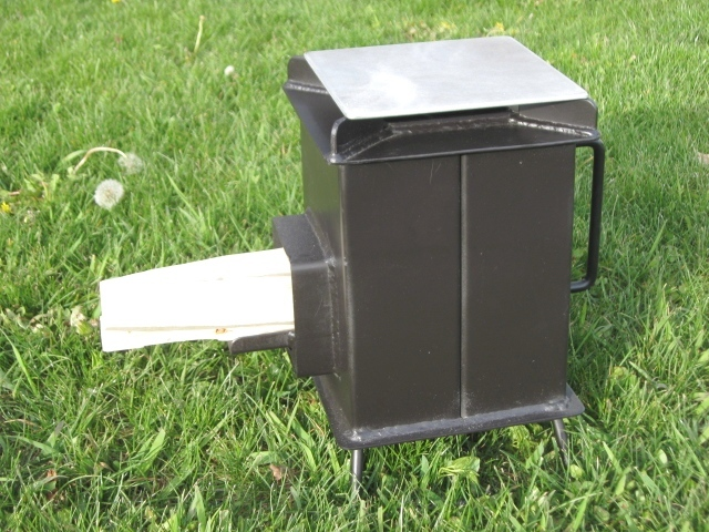 Buy a heavy duty grover rocket stove for Portable rocket stove plans